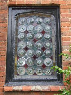 old English window