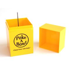 The Spring Collection Is Here! Two New Awesome Colors, 4 Different Ways To Rock 'Em! Spring into action with the new Spring Collection Poke A Bowl® Travel Box™ - comes in 2 colors - Sunfire Yellow and Lucky Lavender - and will only be available through www.pokeabowl.com while quantities last! You can also Mix 'n Match these two new colors to create the perfect Lakers Edition Poke A Bowl® Travel Box™! Visit pokeabowl.com to check 'em out - Clean Your Ash Hole®
