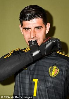 Belgium players pose for official World Cup portraits ahead of opener