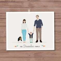 Hey, I found this really awesome Etsy listing at http://www.etsy.com/es/listing/157869668/custom-family-portrait