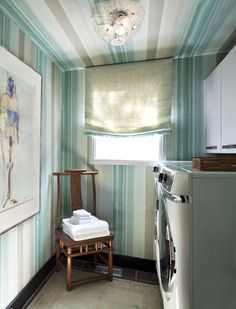2015 Denver Designer Show House Laundry Room Color Decorated By Quincy Interiors Art