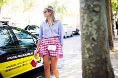 Street Style en Paris Alta Costura, julio 2015 © Josefina Andrés