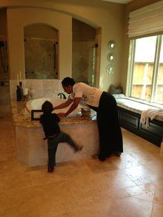 Mommy and cornelius