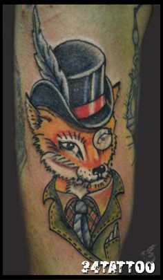 Sir Fox Tattoo