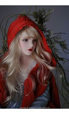 Little Red Riding Hood - Ball jointed doll