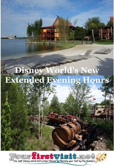 Disney World Tips: How the new extended evening hours will work for those staying at Disney Deluxe Resorts | yourfirstvisit.net | #DisneyWorldTips Saratoga Springs Resort, Springs Resort And Spa, Disney World Deals, Disney World Planning, Disney Vacation Club, Walt Disney World Vacations, Bay Lake Tower, Evening Hours, Polynesian Village Resort