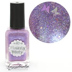 2015 Lynnderella Advent Polish—December 20. Flutterby Beauty