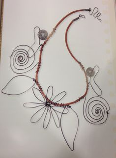 Wire jewelry idea