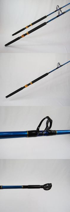 Saltwater Rods 179948: Set Of 2 - Brand New 100Lb Saltwater Fishing Rod - Turbo Guide W Roller Tip -> BUY IT NOW ONLY: $80 on eBay!