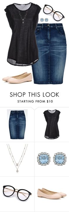 """""""Modesty is Imperative"""" by aowens99 on Polyvore featuring Armani Jeans, James Perse and Chloé"""