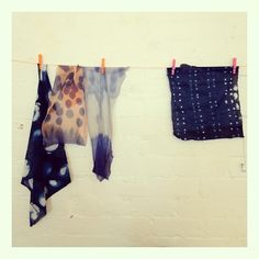 Joanna Fowles Textile Print and Dye Workshop hosted by Harvest Workroom, Melbourne.