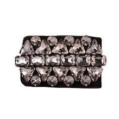 Dorchid Women's Solid Beaded Crystal Cinch Waist Belts