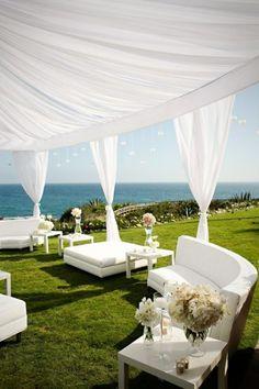 Ocean side; very nice; elegant, but looks comfortable;