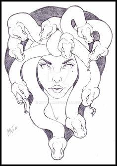 Medusa by Kattvalk on DeviantArt