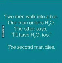 Chemistry guys will understand