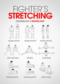 [Pre Workout] Fighter's Stretching
