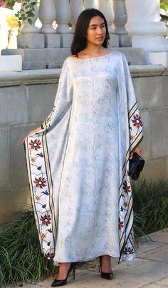 Mumtaz Formal Kaftan Abaya Dress - The Wicked Woman - - Mumtaz Formal Kaftan Abaya Dress - The Wicked Woman Kaftan Abaya, Caftan Dress, Kaftans, African Fashion Dresses, African Dress, Fashion Outfits, Abaya Mode, Mode Hijab, Modern Hijab Fashion