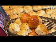 Panes saborizados de panceta, chorizo colorado y cebolla - YouTube Chorizo, Pizza Tarts, Relleno, Breads, Muffin, Breakfast, Food, Christmas Sweets, Rice