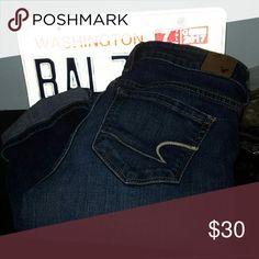 American eagle skinny jeans Size 4 regular. Offers are welcome! 💕 American Eagle Outfitters Jeans Skinny