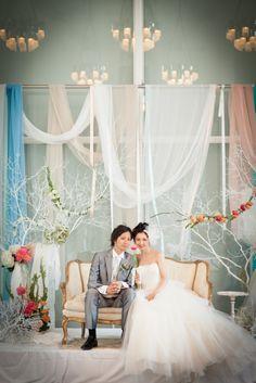 2shot / ツーショット / ドレス/ crazy wedding / ウェディング / 結婚式 / オリジナルウェディング/ オーダーメイド結婚式  crazy wedding http://www.crazywedding.jp/smile/