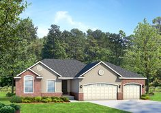 Cambridge Traditional - Traditional style house plan - Walker Home Design
