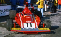 Beautiful Ferrari 312 B3 at Mosport Park 1974