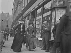 Here is a cool series of photos of Grafton Street in Dublin that we uncovered at the National Library of Ireland. They have an excellent online database of Old Pictures, Old Photos, Grafton Street, Images Of Ireland, Dublin Ireland, Vintage Photographs, Vintage Photos, Street Photography, Classic Photography