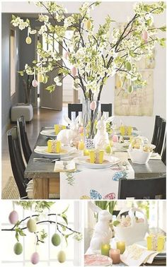 Easy Easter Entertaining Ideas - 55DowningStreet Blog - Designer Decor - Furnishings