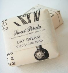 Day Dream Shea Butter Soap - fresh cut grass, orange blossom and amber - by Sweet Petula