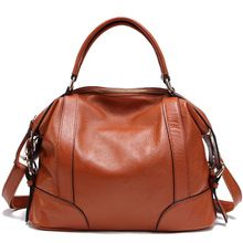 100% couro genuíno das mulheres sacos do mensageiro das primeira camada de couro Crossbody bolsas femininas Designer de bolsas de ombro PT01(China)