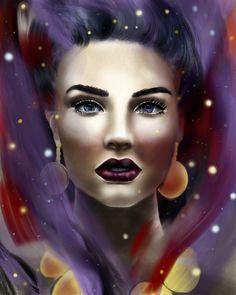 Space lady by LillianRu