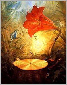 """""""Musique du bois"""", de Vladimir Kush"""