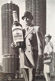 Fleischmann' s whiskey, 1964