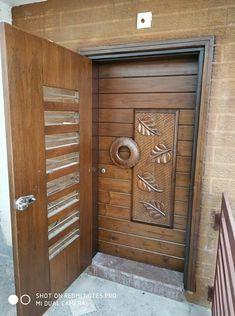 Front Door Design Wood, Double Door Design, Wooden Door Design, Wooden Doors, Pooja Room Door Design, Bedroom Door Design, Door Design Interior, Indian Main Door Designs, Door Design Images