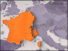 Completely fascinating animation of how France grew (and shrank) since the 1600's to present, under each ruler. FW
