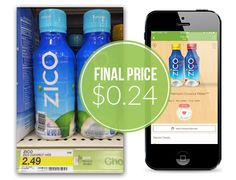 Zico Coconut Water, as Low as $0.24 at Target!