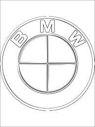 Bmw Logo Ausmalbild Bmwlove Kannstduauto Motor Car Auto