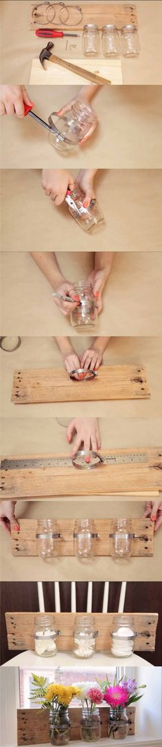 organizador tarros DIY muy ingenioso 2