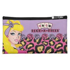 Pin-up, Rock-A-Billy Cosmetic Bag