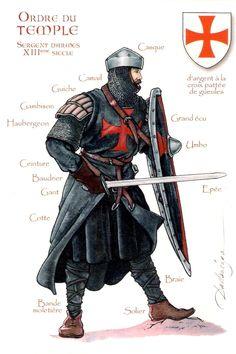The Knights Templar and Knights Hospitaller