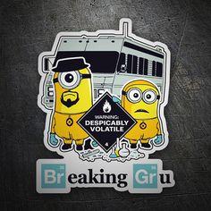 Pegatinas: Breaking Bad Minion #BreakingBad #Vinilo #Pegatina