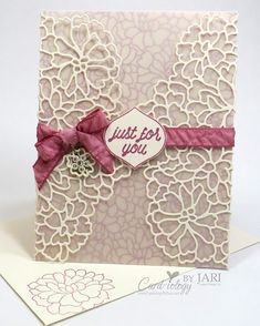 So In Love, Stampin Up, So detailed thinlits