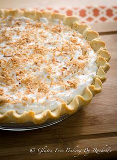 Gluten Free Vegan Coconut Cream Pie