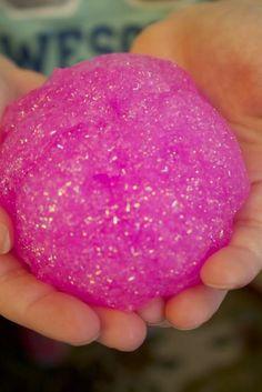 Faça a sua Festa: Tutorial: Geleca Caseira com Glitter Mais