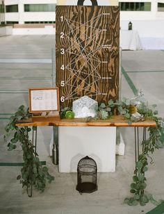 Modern Rooftop Wedding: Olivia + Nic  - I liked the eucalyptus