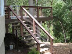 Deck Entrance. Garden Steps, Decks, Entrance, Stairs, Decoration, Home Decor, Decor, Garden Stepping Stones, Entryway
