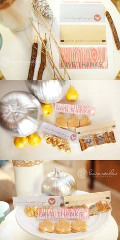 Free DIY Thanksgiving Gift Idea Printable Bag Topper Laura Winslow Photography