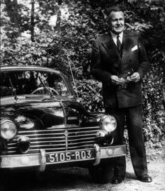 1955 4CV and CEO of Renault