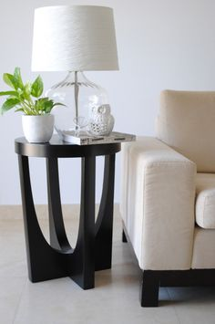 love the side table.