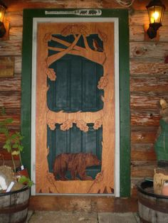Gentil I Was On Vacation When I Saw Some Beautiful Carved Screen Doors. I Wanted  One Sooo Badly But They Were Way Out Of My Price Range.